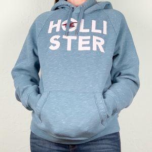 Hollister   Light Blue Pullover Hoodie M